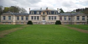 This picture taken on April 4, 2016, shows the Grignon's Louis XIII style castle's laboratory at Thiverval-Grignon near Paris, northern France. Thiverval-Grignon's castle and its 300 hectare domain currently used by AgroParisTech, an agricultural engineering school, is one of the two sites being considered for the new Paris-Saint-Germain football club's training centre. / AFP / KENZO TRIBOUILLARD        (Photo credit should read KENZO TRIBOUILLARD/AFP/Getty Images)