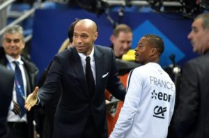 Thierry Henry et Patrice Evra