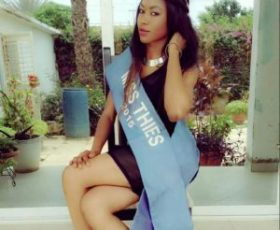 MISS SENEGAL 2016 : Boury Boye ,la miss Thiès rêve de couronne nationale